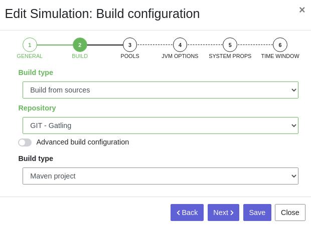 Create simulation - Step 2