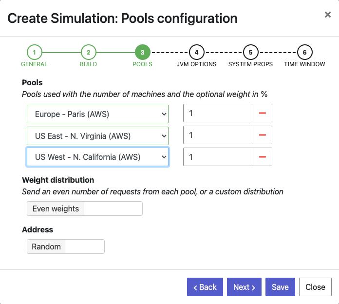 Create simulation - Step 3