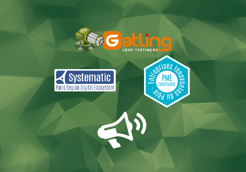 gatling logo next to systematic logo and entreprises innovantes logo