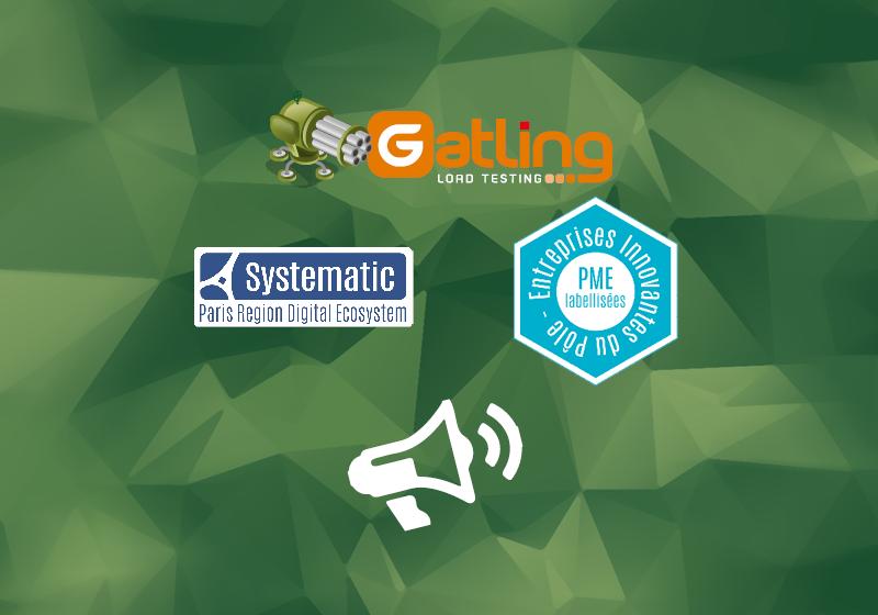 gatling logo next to systematic logo and entreprises innovantes logo