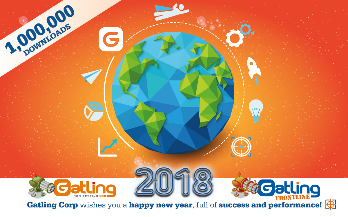 The Gatling team wishes you a happy new year full of success and performance!
