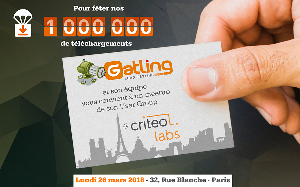 Gatling User Group @ Criteo – This is tonight!