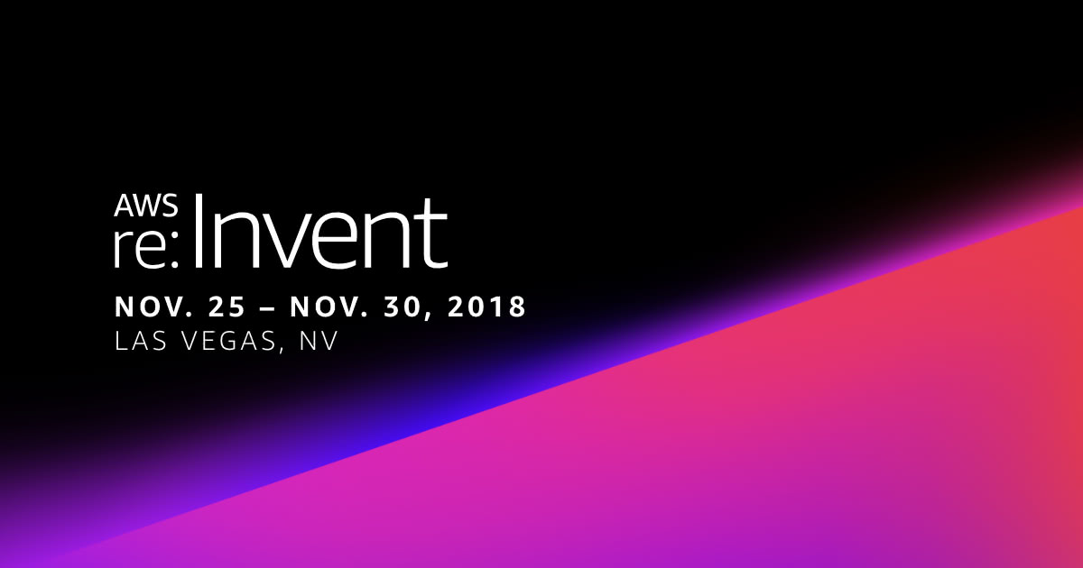 aws re invent 2018 ad