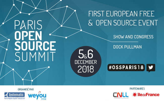 gatling participated in paris open source summit 2018